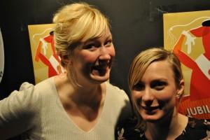 Helene Aalborg og Line Schiøtz. Foto: Linn Seime Pettersen